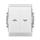 Ovládač žaluziový (tlačítko) IP44, řazení 1/0+1/0 s blokováním