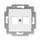Kryt zásuvky komunikační a reproduktorové, se dvěma otvory