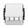 Kryt pro přístroj šikmého osvětlení s LED nebo pro prvky Panduit Mini-Com