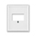 Kryt zásuvky komunikační a reproduktorové přímé nebo přístroje nabíjecího USB
