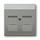 Kryt zásuvky datové a komunikační, s clonkami
