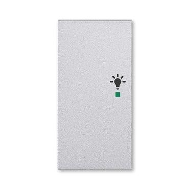ABB 6220H-A02101 70 free@home Kryt 2násobný levý, symbol osvětlení