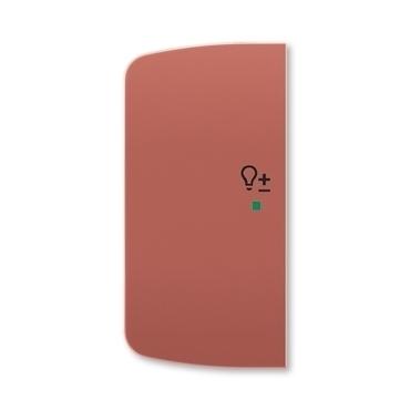 ABB 6220A-A02104 R2 free@home Kryt 2násobný levý, symbol stmívání