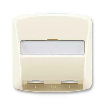 ABB 5013A-A00252 C Tango Kryt zásuvky ISDN průchozí, dvojnásobné
