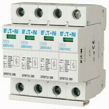 EATON 158331 SPBT12-280/4 Svodič přepětí třídy T1+T2 (B+C), 4pól sada pro TN-S
