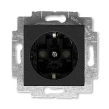 ABB 5520H-A03457 63 Jiné systémy zásuvek Zásuvka jednonásobná s ochrannými kontakty (podle DIN), s c