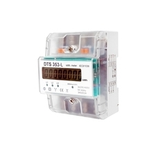 EL 1000883 Elektroměr DTS 353-L 80A, 4,5mod., LCD, 3-fáz., 1-tar., podružný RP 0,60kč/ks
