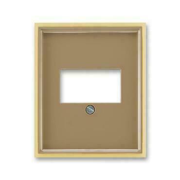 ABB 5014E-A00040 25 Element Kryt zásuvky komunikační přímé (pro HDMI, USB, VGA, USB nabíječku)