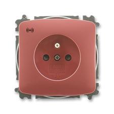 ABB 5589A-A02357 R2 Tango Zásuvka s přepěťovou ochranou, s akustickou signalizací poruchy