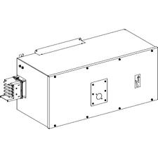 SCHN KSA630ABDD5 Koncová napájecí skříň 630 A pravá s jištěním RP 43,89kč/ks