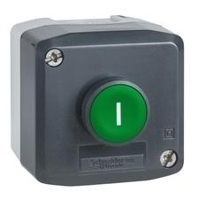 SCHN XALD102 Ovládací skříňka jednotlačítková lícující, 1 Z RP 0,15kč/ks