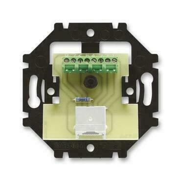 ABB 5013U-A00151 Přístroje Přístroj zásuvky ISDN, koncový, jednonásobný