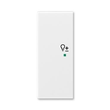 """ABB 6220E-A02104 01 free@home Kryt 2násobný levý, symbol """"stmívání"""""""