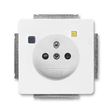 ABB 5526G-A02369 B1 Swing Zásuvka bezpečnostní s proudovým chráničem FI-DOS