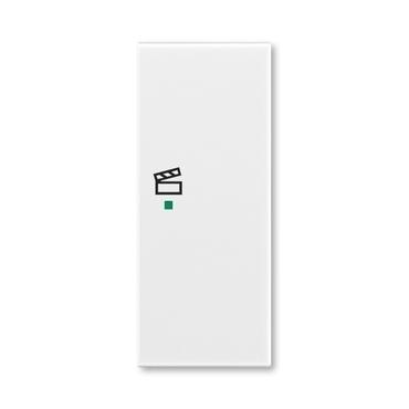 """ABB 6220E-A02203 01 free@home Kryt 2násobný pravý, symbol """"scény"""""""
