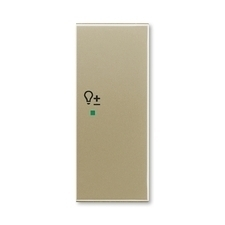 "ABB 6220E-A02204 33 free@home Kryt 2násobný pravý, symbol ""stmívání"""