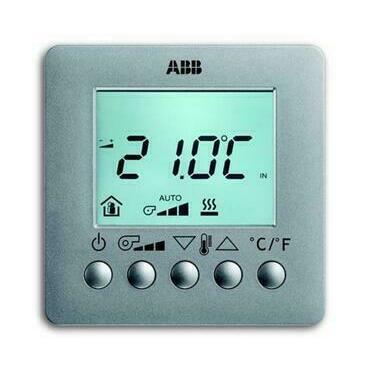 ABB 2CKA006138A0005 KNX Prostorový termostat pro fan-coil