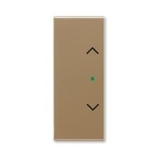 """ABB 6220E-A02002 25 free@home Kryt 2násobný levý/pravý, symbol """"žaluzie"""""""