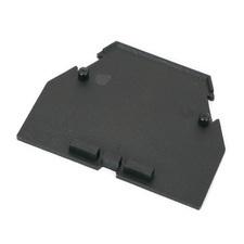 Koncová přepážka RSA 16 A - černá