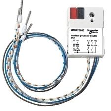 SCHN MTN670802 KNX tlačítkové rozhraní 2-násobné plus, Polar RP 0,03kč/ks