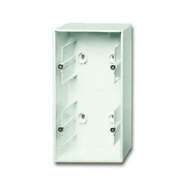 ABB 2CKA001799A0922 Úložný materiál Krabice přístrojová dvojnásobná, pro lištové rozvody