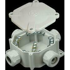 SEZ 6455-11 P/2 Krabicová rozvodka plastová 5P, šedá