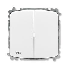 ABB 3559A-A05940 B  Přepínač sériový, s krytem, řazení 5, IP44, bezšroubové svorky 25-IPxx Přepínač