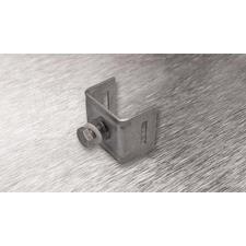 wpr2114 PTA-U11-N8-SS nerez. příchytka U11 pro pásy do š. 20 mm, pro 1 šroub + 1 ks nerez šroub + 1