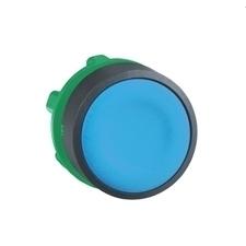 SCHN ZB5AA6 Ovládací hlavice stiskací, lícující - modrá