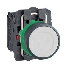 SCHN XB5AA15 Ovládač stiskací, 1 Z + 1 V, bílý RP 0,05kč/ks