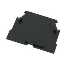 Koncová přepážka RSA 2,5 A / RS 4- černá