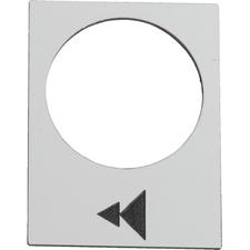 SCHN ZB2BY4903 Etiketa pro závěsný ovládač