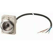 EATON 185971 C30C-FDR-X-K01-P65 Kompaktní zapuštěné tlačítko s kabelem 3.5m a volným koncem, s areta