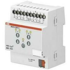 ABB 2CDG110124R0011 KNX Řadový žaluziový akční člen 2násobný, 230 V AC, detekce pohybu a man. ovládá