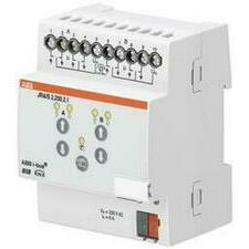 ABB 2CDG110120R0011 KNX Řadový žaluziový akční člen 2násobný, 230 V AC, manuální ovládání