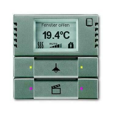 ABB 2CKA006134A0336 KNX Snímač teploty s regulátorem a ovl. prvkem 2- / 4násobným
