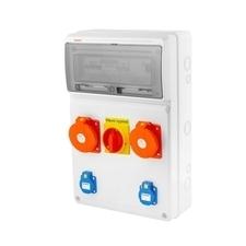 FAM v4402 - ZSFV20101000.1 /3952  Zás.skříň IP44 jištěná s chráničem 40/4/003 RP 4kč/ks