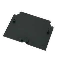 Koncová přepážka RSA 35 A - černá