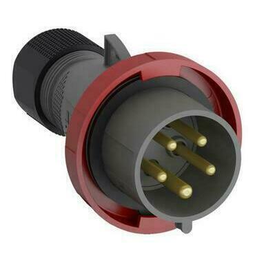 ABB 2CMA101089R1000 Průmyslové vidlice a z. Vidlice 16A - 5p., IP67, 6 h