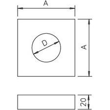 BSK-A0908 Zdvojovací díl