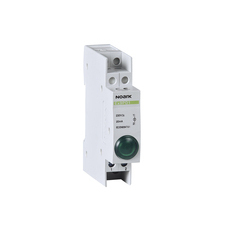 NOARK 102443 Ex9PD1g 230V AC/DC Světelné návěstí, 230V AC/DC, 1 zelená LED