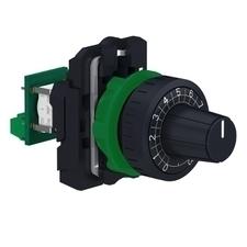 SCHN XB5AD912R4K7 XB5 kompletní potenciometr, lineární, 4,7 kOhm RP 0,06kč/ks