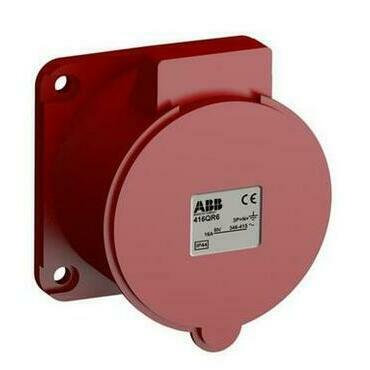 ABB 2CMA102327R1000 Průmyslové vidlice a z. Zásuvka vestavná bezšroubová 16A - 5p., IP44, 6 h