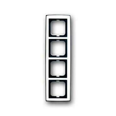 ABB 2CKA001754A4329 Solo Rámeček čtyřnásobný, pro vodorovnou i svislou montáž