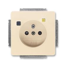 ABB 5526G-A02369 C1 Swing Zásuvka bezpečnostní s proudovým chráničem FI-DOS
