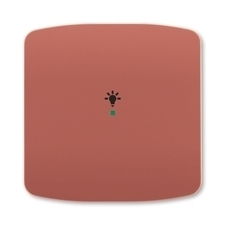 ABB 6220A-A01001 R2 free@home Kryt 1násobný, symbol osvětlení