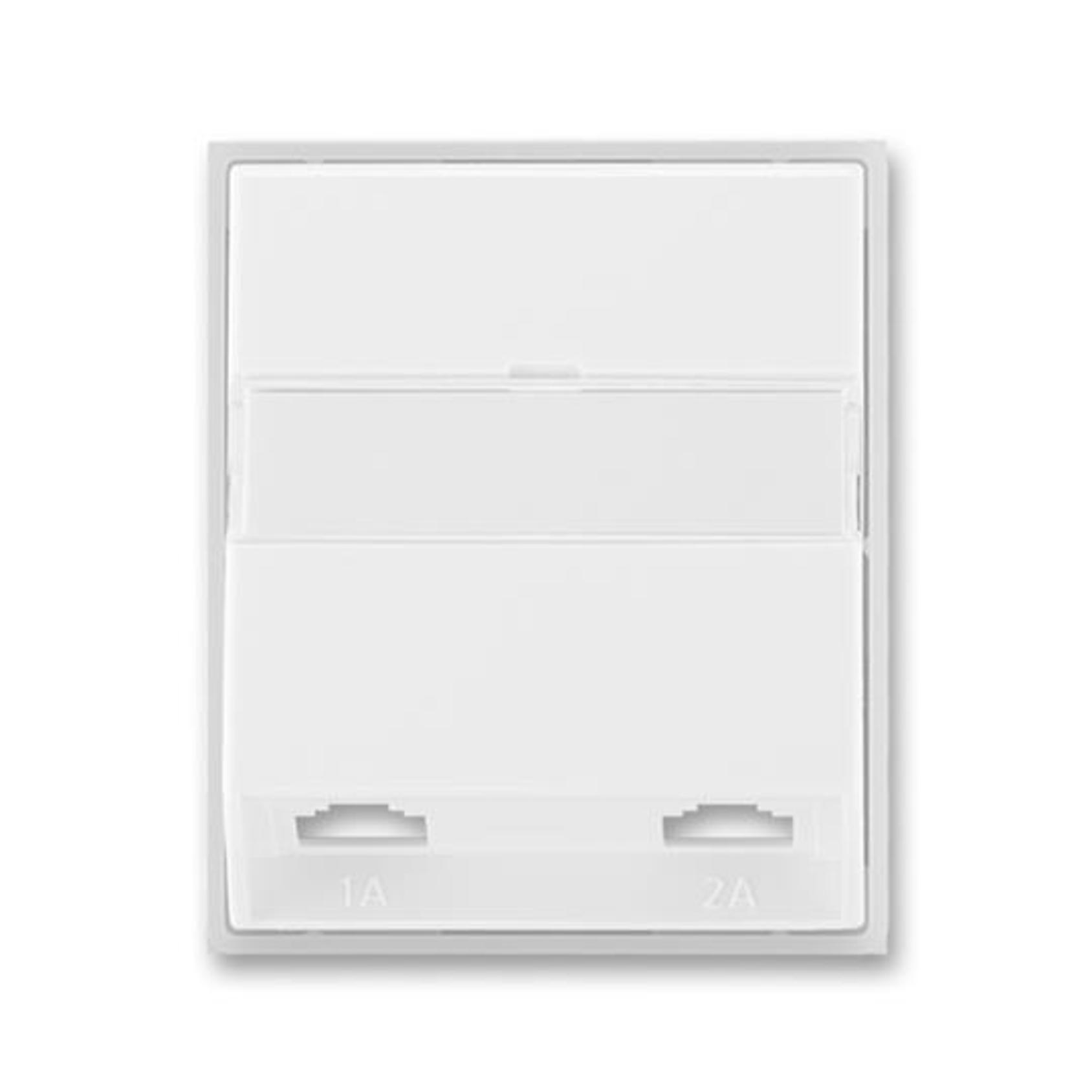 ABB 5013E-A00215 01 Element Kryt zásuvky telefonní, dvojnásobné (pro přístroj 5013U)