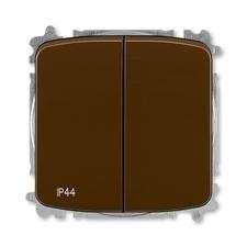 ABB 3559A-A05940 H  Přepínač sériový, s krytem, řazení 5, IP44, bezšroubové svorky 25-IPxx Přepínač
