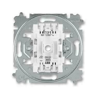 ABB 3559-A87345 Přístroje Přístroj ovládače zapínacího dvojitého, řazení 1/0+1/0