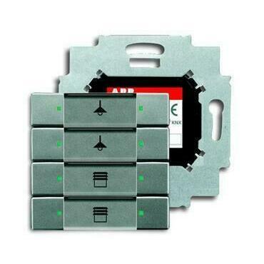ABB 2CKA006117A0228 KNX Prvek ovládací 4násobný se sběrnicovou spojkou